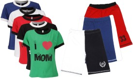 Gkidz T-shirt And Shorts Set Boy's  Combo - ACBE6VC8KJZEYFVJ