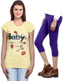 IndiWeaves Apparels>Women>Combo Sets Top Girl's  Combo
