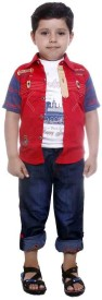 Colors Kids Shirt Boy's Combo