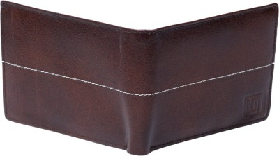 Leather Mall Men Brown Genuine Leather Wallet