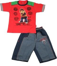 Kid's Care T-Shirt Boy's Combo