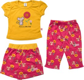 Toffyhouse T-Shirt Baby Girl's  Combo