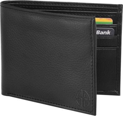 Swisstyle Men Black Genuine Leather Wallet