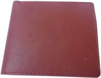 Good Life Stuff Men Formal Brown Genuine Leather Wallet 7 Card Slots