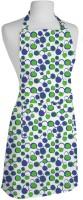 Smart Home Textile Cotton Apron Large Green, White, Single Piece