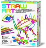 4M Art & Craft Toys 4M Straw Art kit