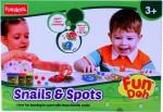 Funskool Art & Craft Toys Funskool Fundoh snails and spots playset