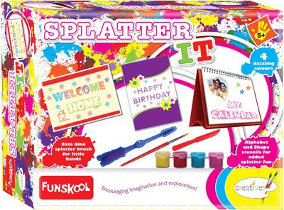 Funskool Art & Craft Toys Funskool Splatter Art