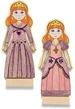 Melissa & Doug Art & Craft Toys Melissa & Doug Wooden Magnetic Princess Fashions