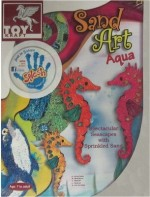 Toy Kraft Art & Craft Toys Toy Kraft Kraft Sand Art Aqua