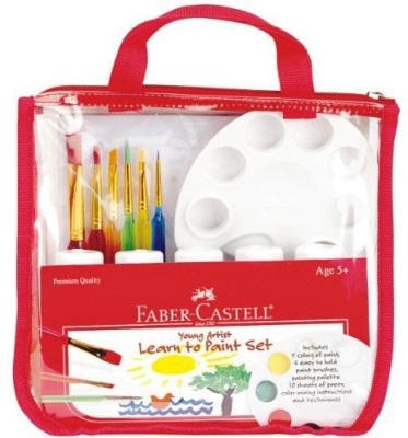 Faber Castell Faber Castell Young Artist Learn to Paint Set