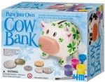 4M Art & Craft Toys 4M Paint Your Own Cow Bank