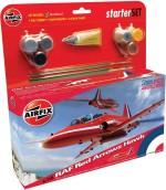 Funskool Art & Craft Toys Funskool Airfix 1:72 Raf Red Arrows Hawk Starter Set