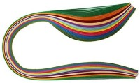 AND Retails Set Of 100 Colorful 5 Mm Quilling Paper Strips