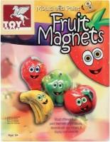 Toy Kraft Kraft Mould N Paint - Fruit Magnets