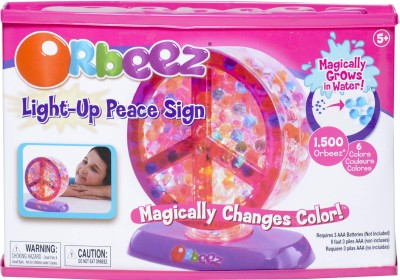 Sign up Sign in Orbeez Light-up Peace Sign