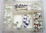 Jaunty Art & Craft Toys Jaunty Beadsnfashion Necklace/Bracelet Making DIY Kit White