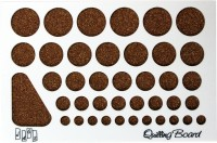 Tootpado Designer Paper Quilling Board (1l375) Circles Art And Craft Tools For Creative Purposes.