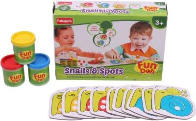 FUNSKOOL Art & Craft Toys FUNSKOOL FUN DOH SNAIL AND SPOTS