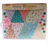 Tootpado Pretty Florals Paper Bunting Set (EPB1502) - DIY Art And Craft Kits