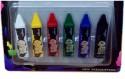 Hrinkar Body Paint Crayons Tatoo Face Painting Crayons Tattoo Paint 6 Pcs + 3D Glass SITATOO01
