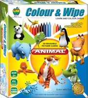 Apple Apple Fun Colour  Wipe Animals Jr.