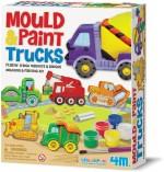 4M Art & Craft Toys 4M Mould & Paint / Trucks