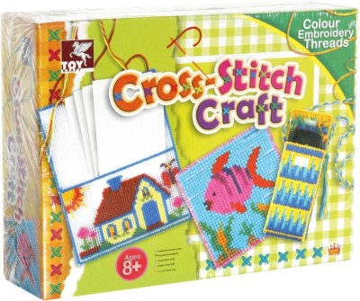 Toy Kraft Art & Craft Toys Toy Kraft Cross Stitch Craft