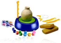 Zaprap Multicolour Pottery Wheel Art- Game & Learn Educational Toy For Kids