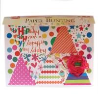 Tootpado Happy Birthday Paper Bunting Set (EPB1503) - DIY Art And Craft Kits