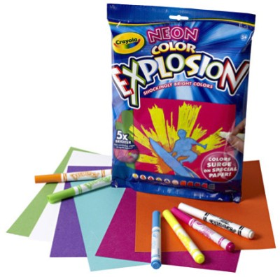Buy Crayola Neon Color Explosion Art Sets: Art Set