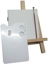 Artifact Complete Art Set (Canvas Board, Easel, Tray, Brush)