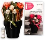 DECO aro DECO aro Multicolor Assorted Artificial Flower with Pot