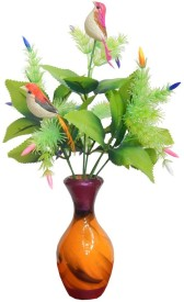 RZ Best Flower Two Birds Multicolor Assorted Artificial Flower
