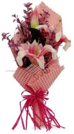 Gifts By Meeta Pink Assorted Artificial Flower