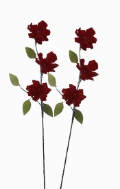 Pollination Crystal Carnition Flower Red Assorted Artificial Flower