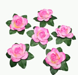 Pollination Floating Rose Pink Assorted Artificial Flower
