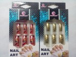DT Artificial Nails DT ARTIFICIAL NAIL GOLDEN RED