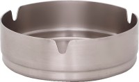 Dynamic Store Round Medium Steel Stainless Steel Ashtray (Pack Of 12)