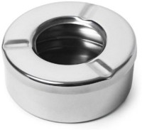 Dynamic Store Steel Stainless Steel Ashtray (Pack Of 1)