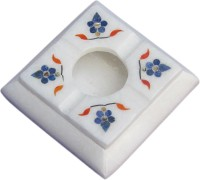Artist Haat White Marble Ashtray (Pack Of 1) - ASHE5F937AUG6MP7