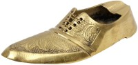 Halowishes Boutique Shoe Brass Gold Brass Ashtray (Pack Of 1)