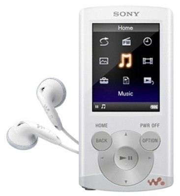 Buy Sony Walkman NWZ-E363 4 GB Video MP3 Player (White): Home Audio & MP3 Players