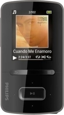 Buy Philips GoGear ViBE 16 GB MP3 Player: Home Audio & MP3 Players