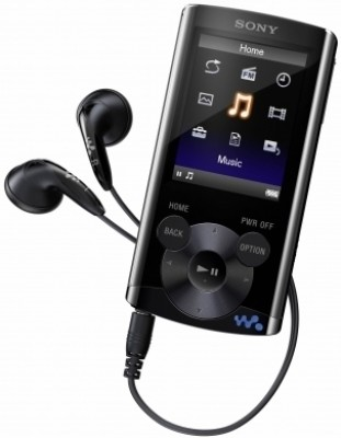 Buy Sony Walkman NWZ-E363 4 GB Video MP3 Player (Black): Home Audio & MP3 Players