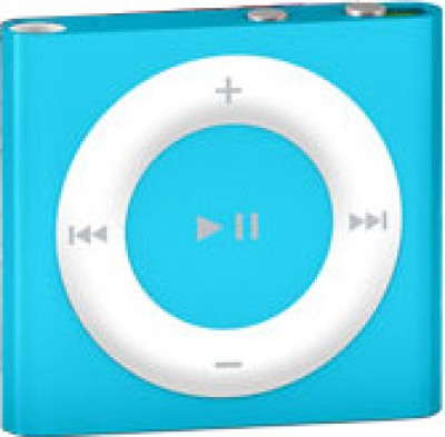 Apple iPod Shuffle 2  GB Blue available at Flipkart for Rs.3499