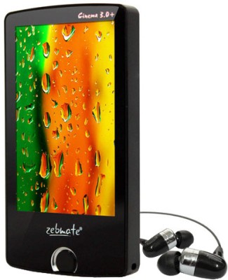Buy Zebronics Cinema 3.0+ 4 GB MP4 Player: Home Audio & MP3 Players