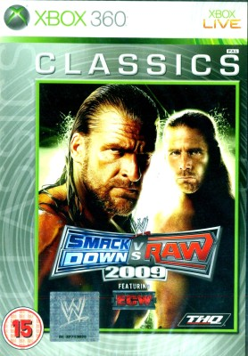 Buy WWE SmackDown Vs Raw 2009 [Classics]: Av Media
