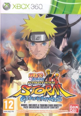 Buy Naruto Shippuden: Ultimate Ninja Storm - Generations (With Bonus): Av Media