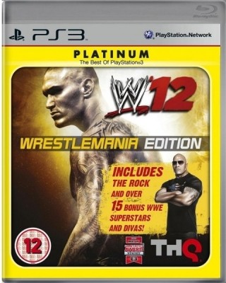 Buy WWE 12 (Wrestlemania Edition): Av Media